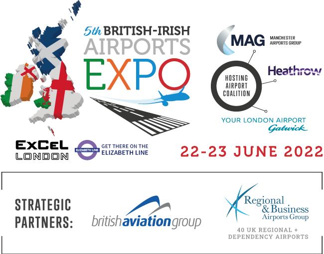 5th British-Irish Airports EXPO brand image